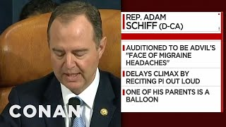 More Infographics From The Impeachment Hearing - CONAN on TBS