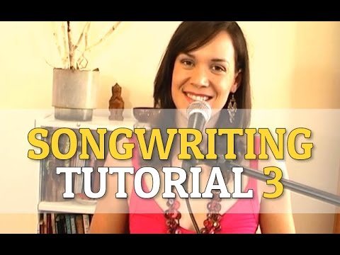 How To Write A Song - Songwriting Tutorial 3 - 'Chords'