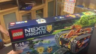 รีวิวlego nexo knights axl's rolling Arsenal ไทยครับ