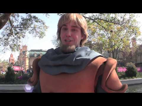 Captain Phoebus from Hunchback of Notre Dame meet and greet at Walt Disney World