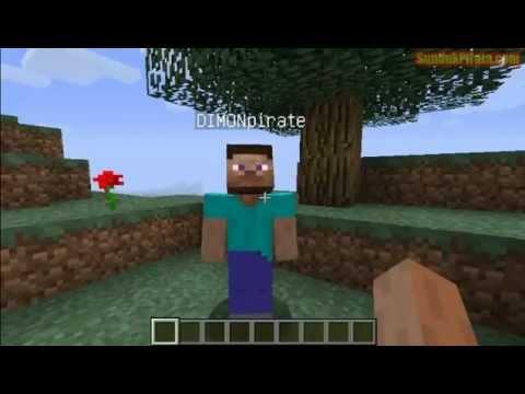 Постройка корабля в Minecraft.