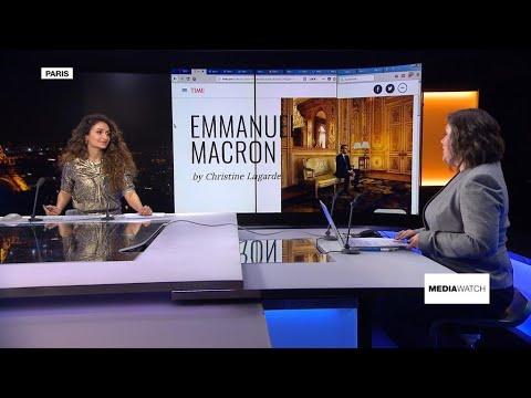 فرانس 24:Macron makes Time 100 as France revolts
