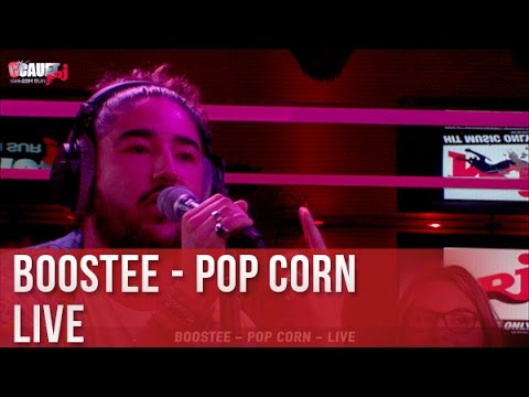 Youtube: Boostee – Pop corn – Live – C'Cauet sur NRJ