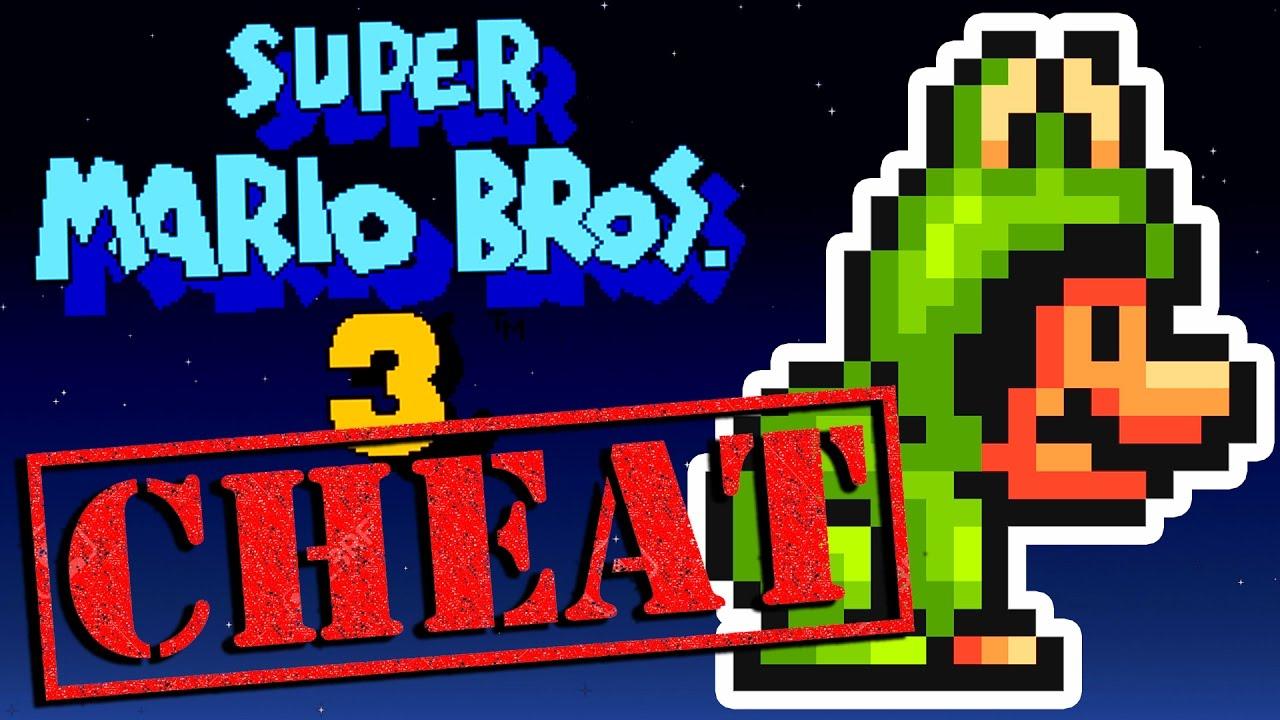 <b>SUPER MARIO BROS</b>. <b>3</b> - LES <b>CHEATS CODES</b> [SPACE <b>CHEAT</b>] - YouTube