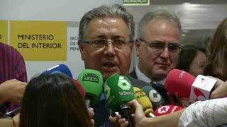 """Zoido: El detenido en Vinarós estaba """"muy vinculado"""" a la célula de Cataluña"""