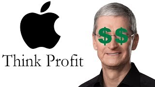 Apple Is Greedier Than Ever, And It Will Be Their Downfall
