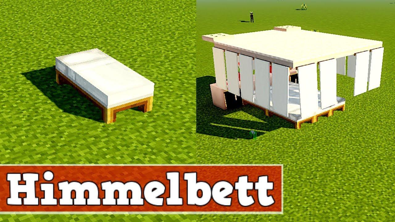 Wie Baut Man Ein Schones Cooles Bett In Minecraft Minecraft Bett