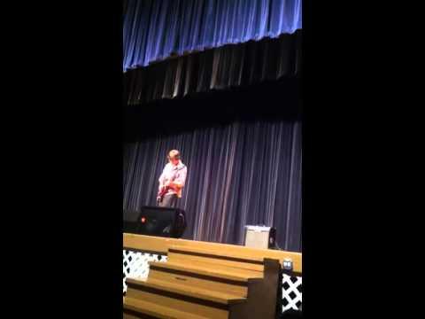 Foxy Lady @ HJ Talent Show