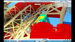 ROBLOX Theme Park Tycoon 2: Last / Final Ride on California Screamin Ever!!! POV in 2018 w boymud12