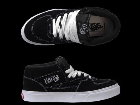 Vans Half cab skate shoe unboxing HD - YouTube 2ffc34741