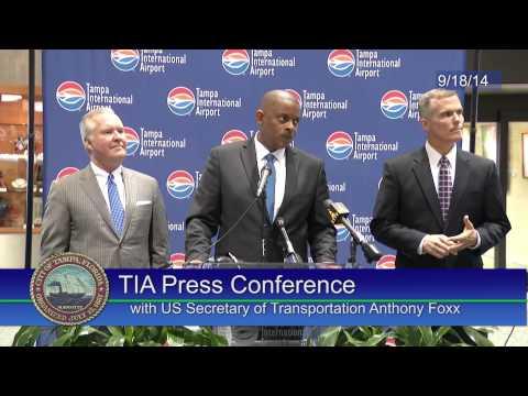 TIA Press Conference with US Secretary of Transportation Anthony Foxx 9/18/14
