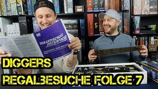 Regalbesuche - Digger bei Euch zu Gast - Folge 07 - Benny - Pottgamer - Brettspiele Boardgame Digger