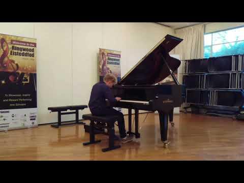 Gewitter (by Friedrich Burgmüller) performed Artemii Safonov