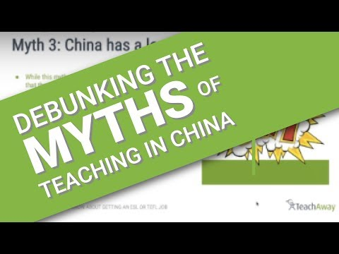 Debunking the myths of teaching English in China