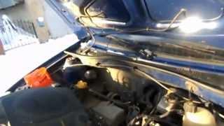 ремонт рено логан: чистка дроселя и замена тросика газа