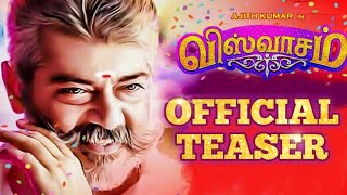 Viswasam Official Release date - Viswasam Teaser | Thala Ajith | Nayanthara | Siva | D. Imman