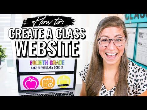how-to-create-a-class-website-for-teachers-|-google-sites-tutorial