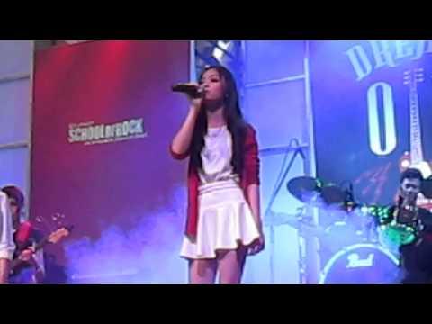 Yume Tiffany Group Singing  - Salonga School Of Rock (SOR) in  Ayala Activity Center Cebu