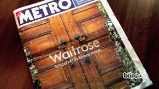 Waitrose Christmas Magic in augmented reality with blippar