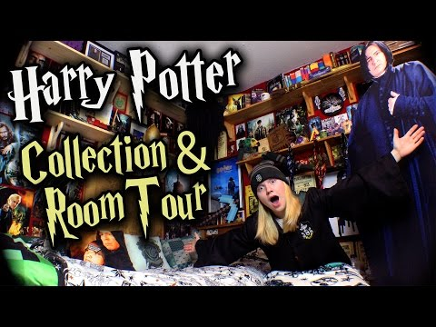 Biggest Harry Potter Collection & Room Tour!