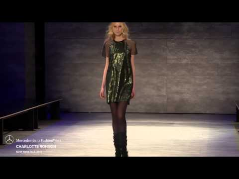 CHARLOTTE RONSON MERCEDES-BENZ FASHION WEEK FW 2015 COLLECTIONS