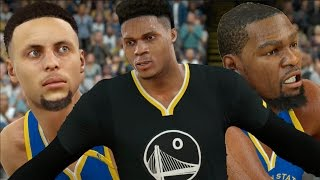 what if russell westbrook and kevin durant went to the warriors nba 2k17 challenge
