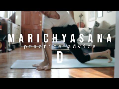 Marichyasana D Ashtanga Yoga practice advice
