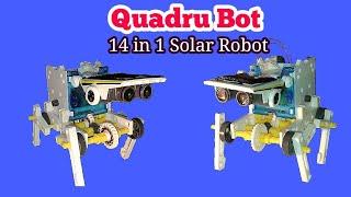 #Частину-5 / #3-го рівня: загальний бот складання/ #14in1 Сонячний робот освіти комплект іграшки: як асамбляж