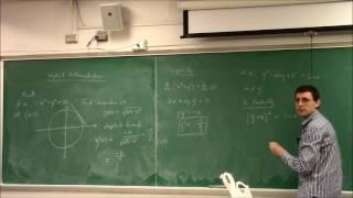 Calculus I (Lecture 14): Implicit Differentiation