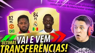 Fred é do MANCHESTER UNITED!!!  Sadio MANÉ no Real MADRID?! TRANSFERÊNCIAS DO FUTEBOL!! 💰🇧🇷