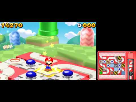 Mario and Donkey Kong: Minis on the Move - 100% Walkthrough - Mario's Main Event Levels 61-70