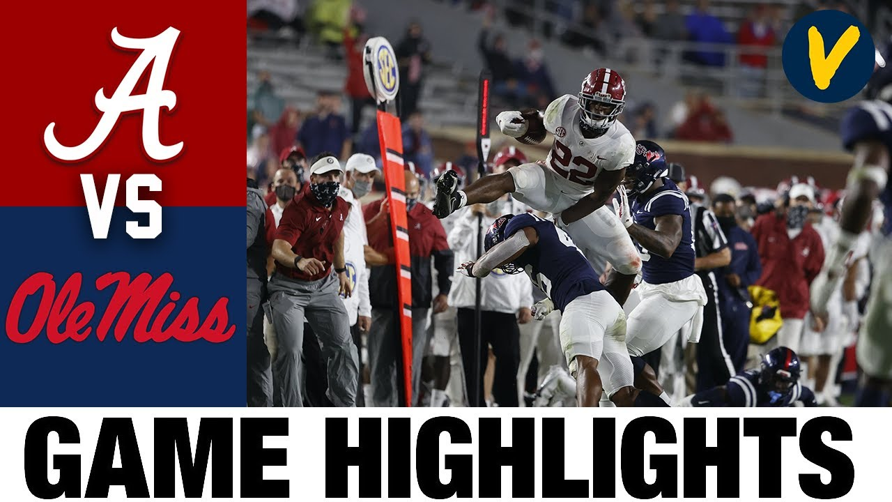 #2 Alabama vs Ole Miss Highlights | Week 6 College Football Highlights | 2020 College Football