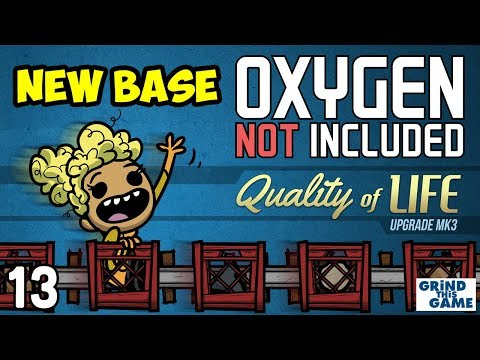 Oxygen Not Included #13 - STEAM TURBINE COOLING - Quality of Life