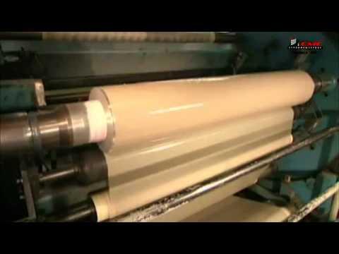 Производство скотча (липкая лента)