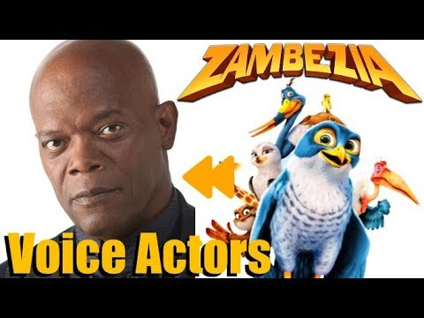 """Download """"Zambezia"""" Voice Actors and Characters"""