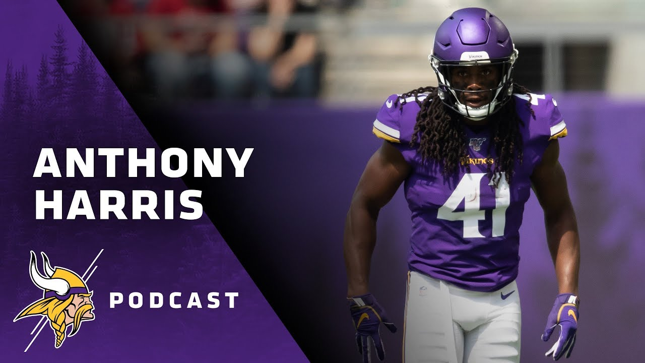 huge discount 9e4eb 29298 Anthony Harris Breaks Down His Big Game vs. Atlanta Falcons | Under Center  with Kirk Cousins