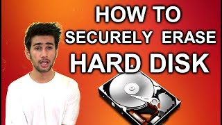 [HINDI] - HOW TO SECURELY ERASE HARD DISK
