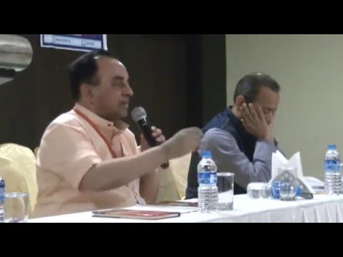 Dr Swamy explaining legal steps for building Ram Temple 6th Dec'15