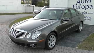 2009 Mercedes Benz E320 Bluetec Videos