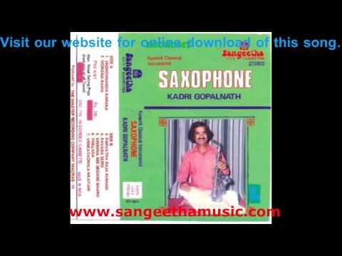 Saxophone - Venkatachala Nilayam