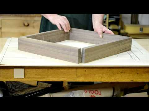Mindbender: How Can Wood Grain from a Single Board Match at All Four Corners of a Box?