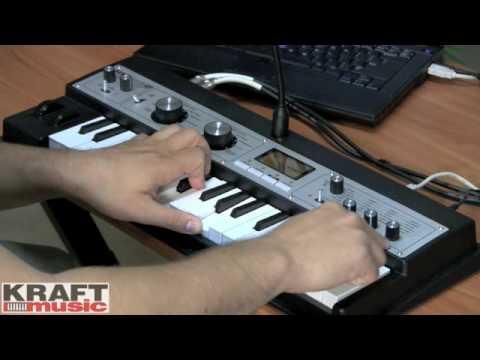 Kraft Music - Korg microKORG XL Demo with Rich Formidoni