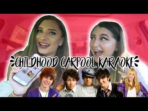 CHILDHOOD CAR POOL KARAOKE!