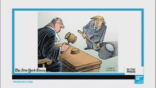 'Rule of law  1   Trump  0'