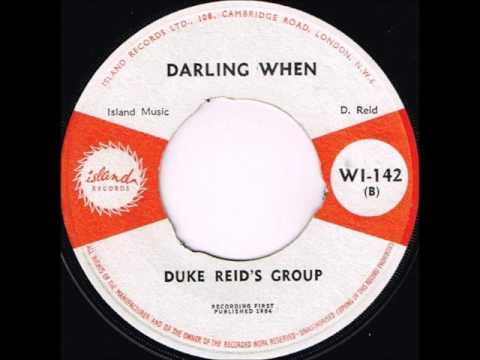 Duke Reid's Group - Darling When / Eric Morris -  Penny-Reel - Island WI-142 - 1964