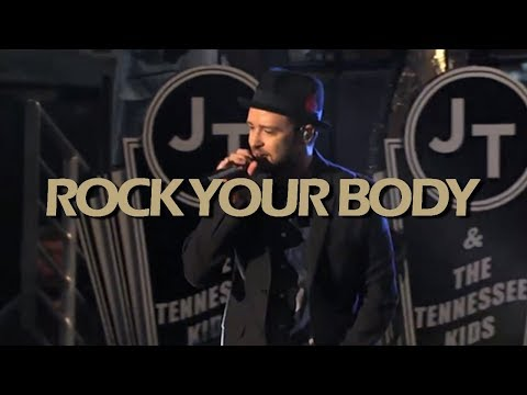 Justin Timberlake - Rock Your Body (Jimmy Kimmel Live) HD