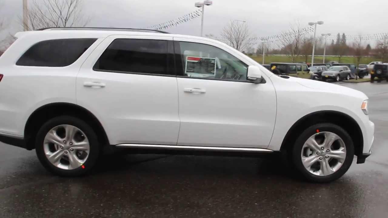 2014 Dodge Durango Limited | White | EC358066 | Everett | Snohomish - YouTube