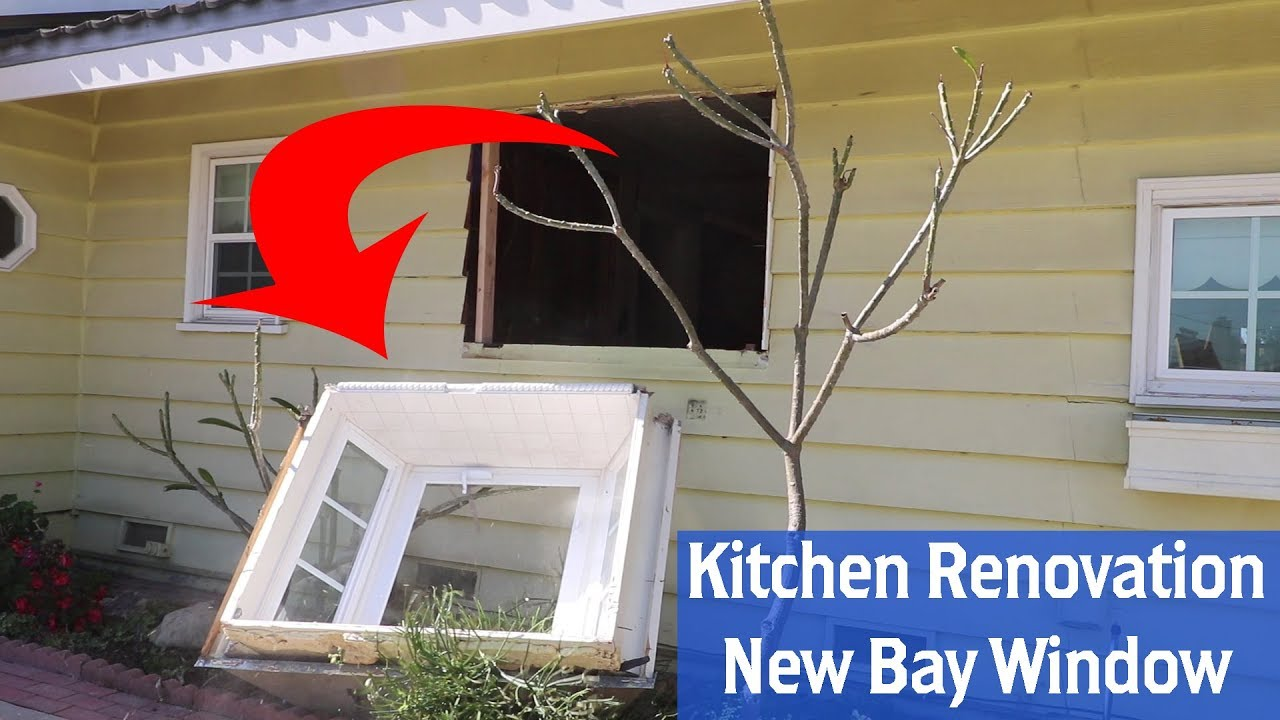 Building a New Kitchen Part 2: New Bay Window