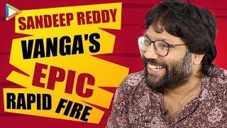 """I always feel that, if you can get it 90's wala SRK…"": Sandeep Reddy Vanga | Rapid Fire"