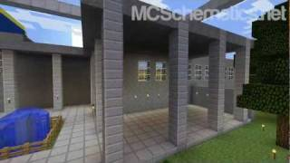 Minecraft Schematic: Courthouse (DOWNLOAD)